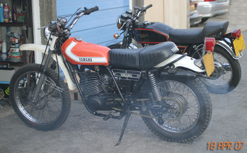 1975 Yamaha DT250 (model 512)